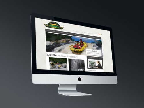 Website Apuama Rafting